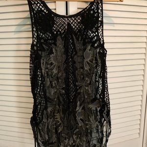 Free People net cover up
